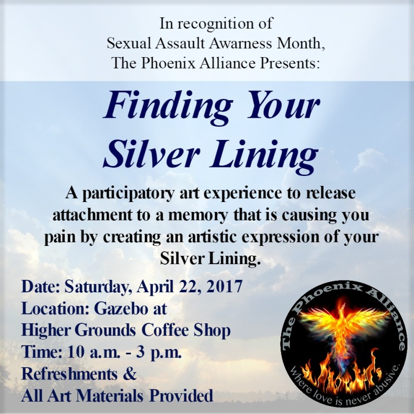 Event Poster for Finding Your Silver Lining